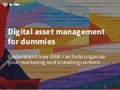 Digital asset management for dummies