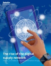 The rise of the digital supply network - IIOT Industry40 distribution