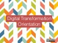 Digital Transformation - A Visual Orientation