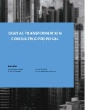 Digital Transformation Consulting Proposal