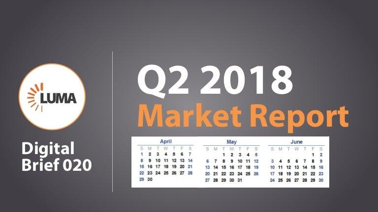 LUMA Digital Brief 020 - Market Report Q2 2018