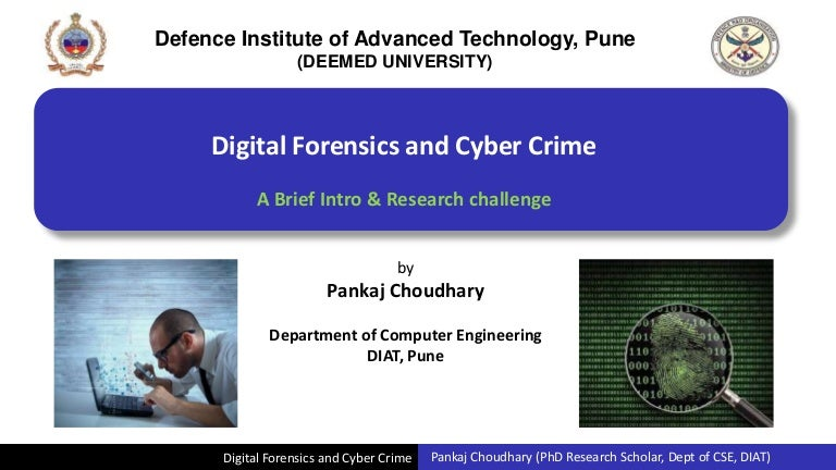 what is digital forensics and what role 11052011 i speak with a lot of security professionals who are seeking to enter or grow in the field of digital forensics and incident response there is a lot of.