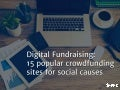 15 popular crowdfunding sites for social causes