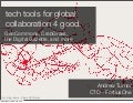 tech tools for global collaboration 4 good