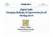 Digital india: Emerging Challenges & Opportunities for the  Banking Sector
