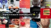 Digital, Innovation & Creative Projects | 53