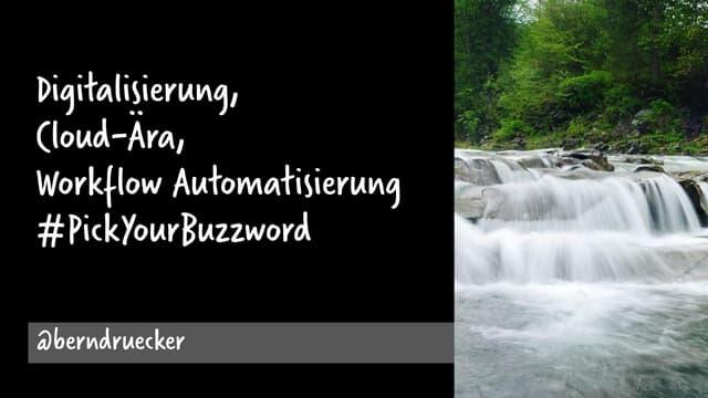 Digitalization and Workflow Automation - Camunda Process Automation Forum