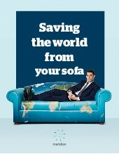 How to save the world from your sofa