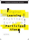 Digital learning architectures of participation Book Cover