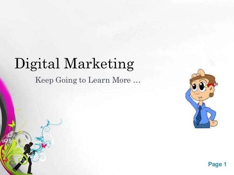 Digital marketing types toneelgroepblik Choice Image