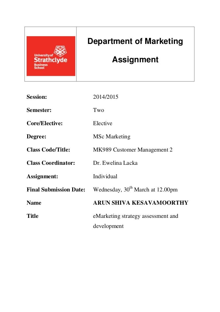 Ugb229 assignment marketing