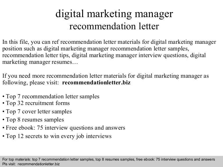 digitalmarketingmanagerrecommendationletter 140818030535 phpapp01 thumbnail 4jpgcb1408331160