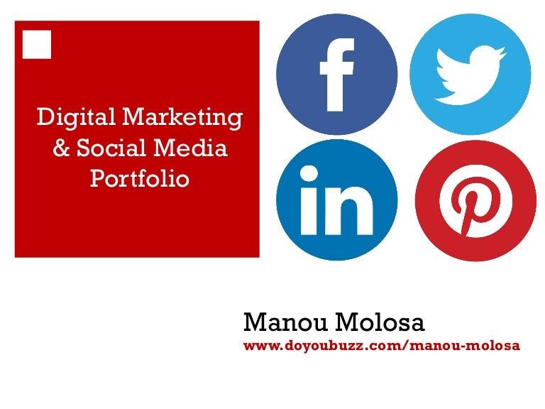 Digital marketing & Social Media portfolio