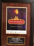 50 Most Influential Digital media professional Award confered to Sharad Mathur