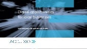Digital Opportunities For Local Businesses