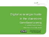Digital scavenger hunts norwey 2014