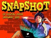 Digital Snapshot of India - January 2015