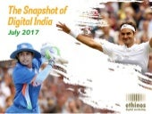 Snapshot of Digital India- July 2017