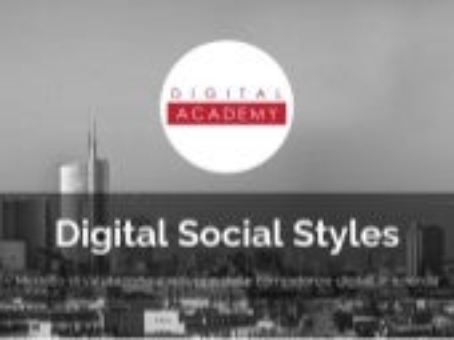 Digital Social Styles