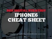 BBH Digital Strategy iPhone6 Cheat Sheet