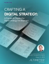 [NEW RESEARCH] Crafting A Digital Strategy