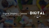 Digital Strategy Canvas | Metodologia de Estratégia Digital