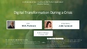 Journey to the Perfect Application: Digital Transformation During a Crisis