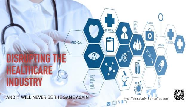Digital transformation  in health care industry by  tommaso di bartolo