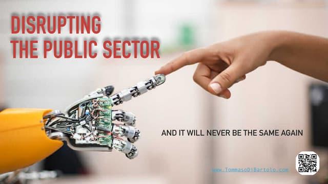 Digital transformation in the Public Sector. By Tommaso Di Bartolo. Silicon Valley