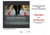 Digital Workplace in the Connected Organization