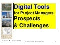 Digital Tools for Project Managers Prospects & Challenges