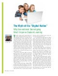 The Myth of the Digital Native: Why Generational Stereotyping Won't Improve Student Learning