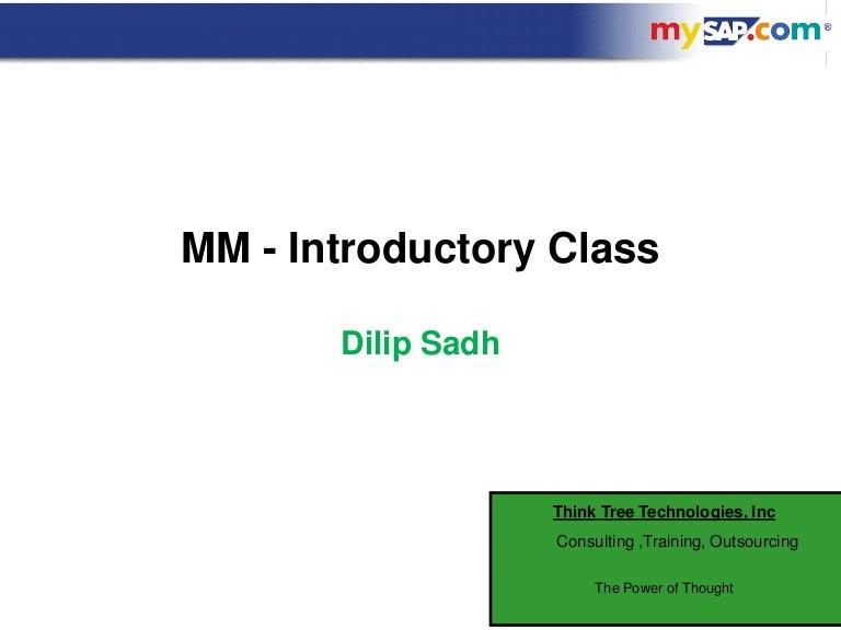 Dilip sadh mm wm overview