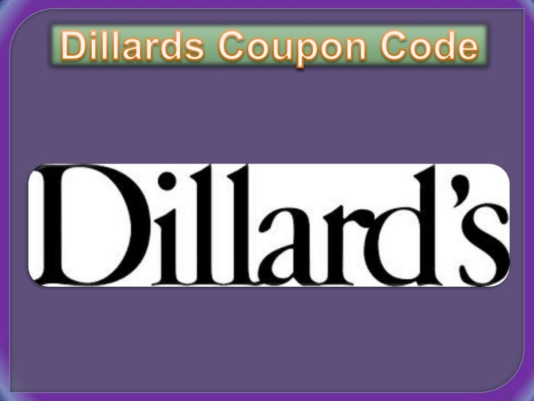 picture about Dillards Printable Coupon referred to as Dillards coupon code