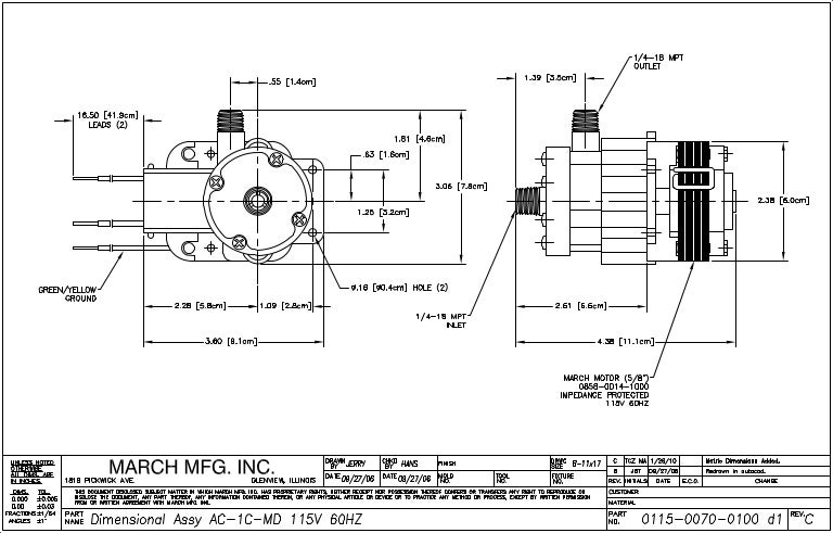 dimensionaldrawing pdf115v 150123161633 conversion gate02 thumbnail 4?cb=1422029872 magnetic drive pumps data dimensional drawing _pdf for pump series a Centrifugal Pump Animation at nearapp.co