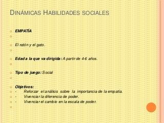 Dinamicas habilidades sociales.maria_teresa