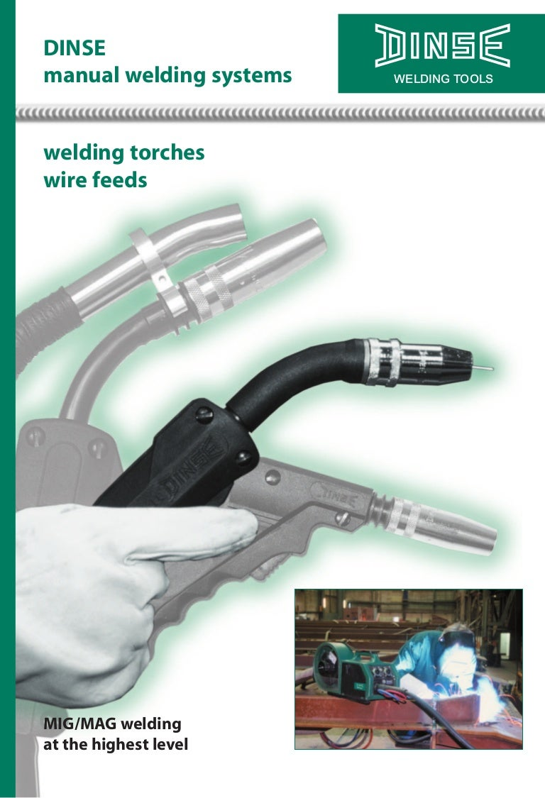 Dinse Manual Weld Torches