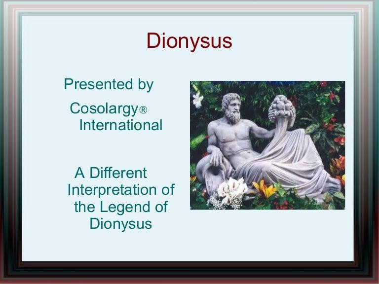 Dionysus Presentation