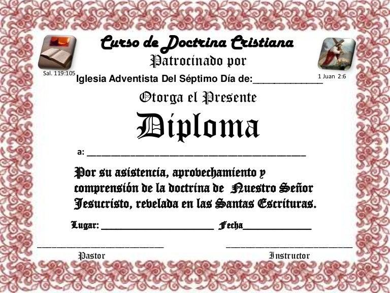 formatos de diplomas