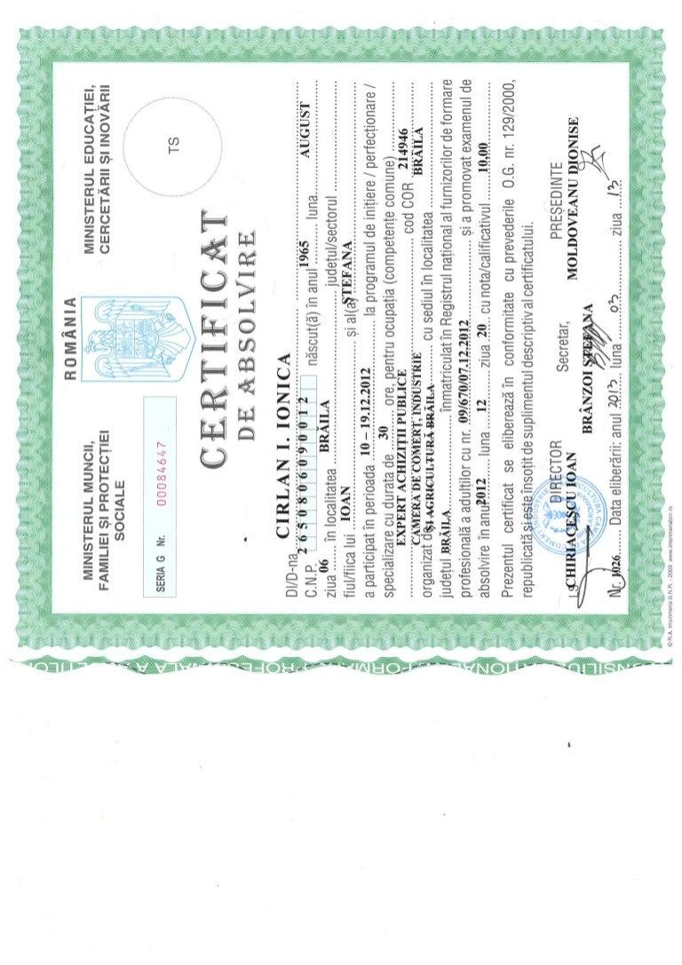diploma expert achizitii publice