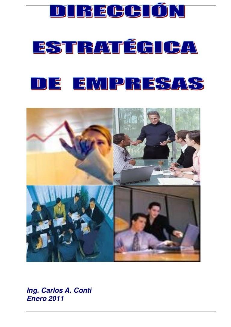 Direccion Estrategica de Empresas - 2011