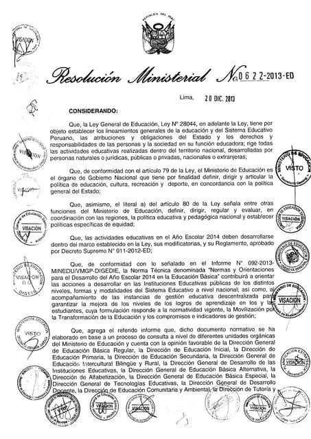 Directiva anio escolar_2014-622-2013