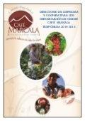 Directorio de cooperativas con denominación de origen café  marcala 2014 2015