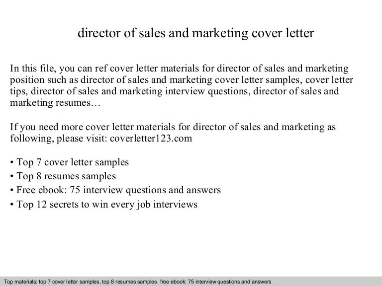 Career Services Director Cover Letter Dravit Si Cover Letter For Sales  Manager Post B B Marketing Manager  Director Of Sales Resume