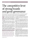 Maurice Lévy: The Competitive Lever of Strong Boards and Good Governance