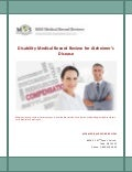 Disability Medical Record Review for Alzheimer's Disease