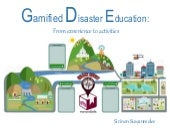 Disaster education game