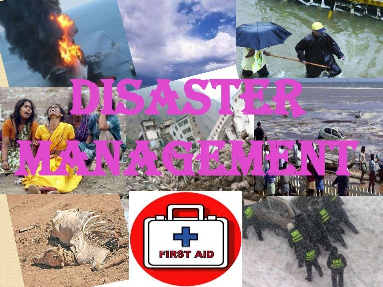 communication facilities for disaster management introduction