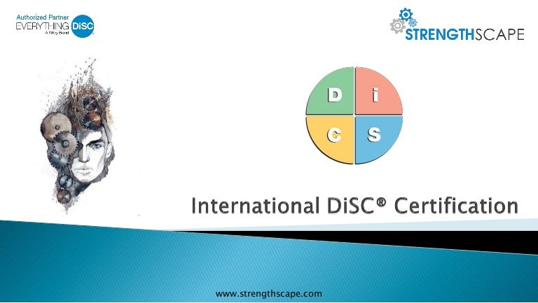 Everything Disc Trainer Certification Assessments And Profiles