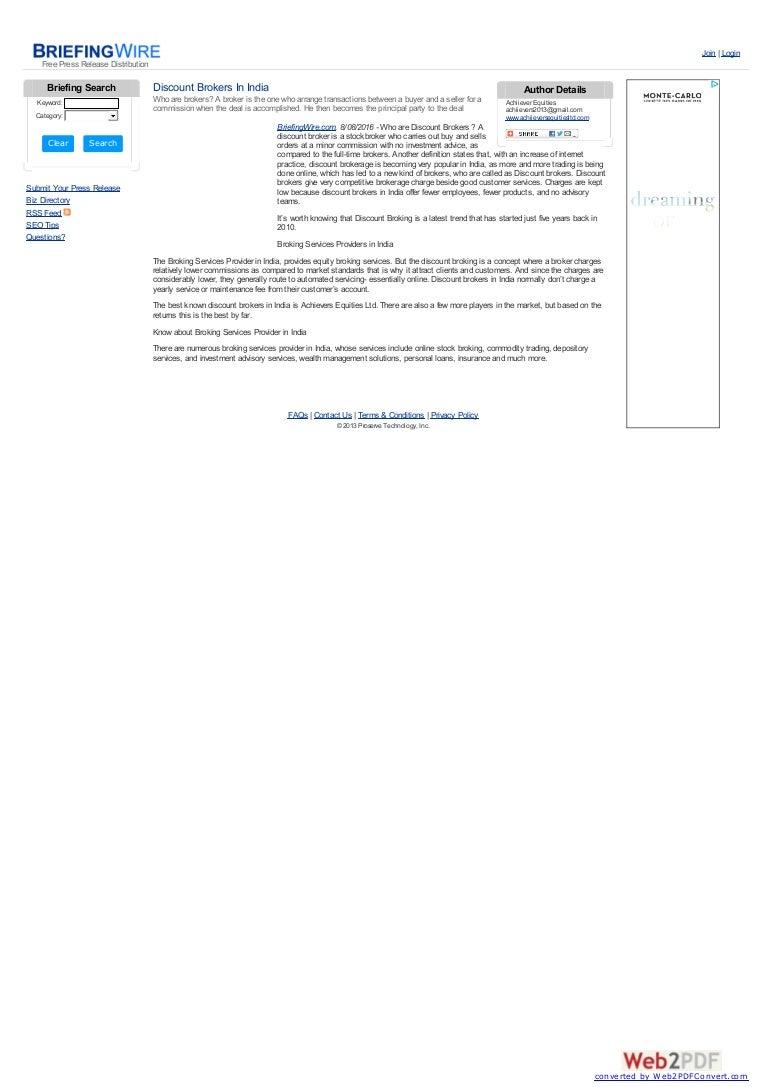 discount brokers in india:achiieversequitiesltd